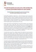 PreComb Press Release Seed financing